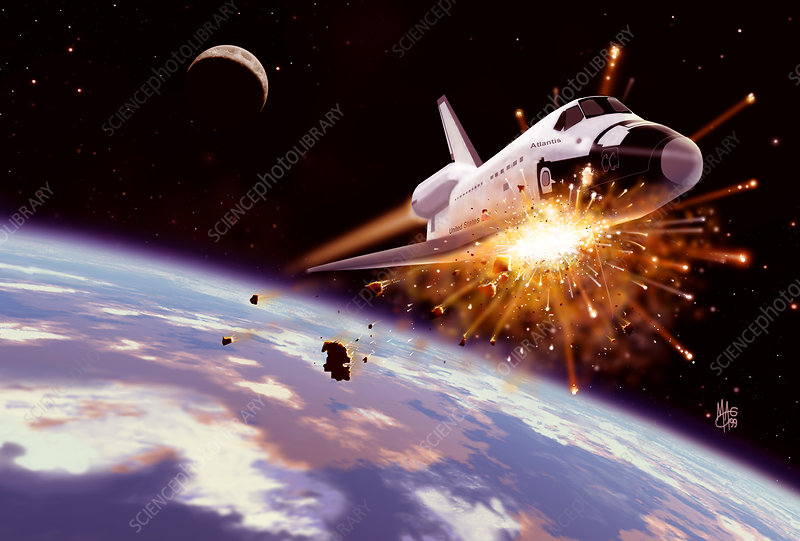 Shuttle collision