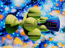 Artwork of Daedalus starship