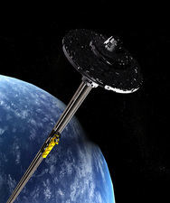 Space Elevator, artwork