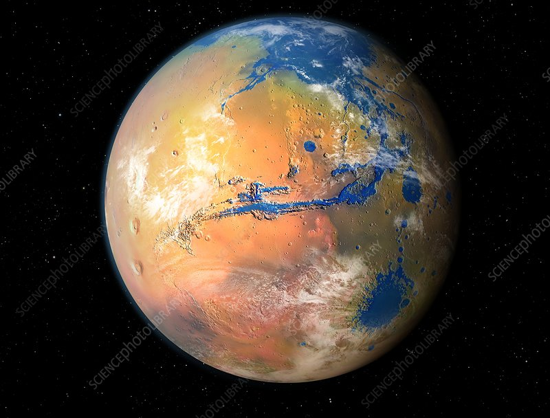 Terraformed Mars, artwork