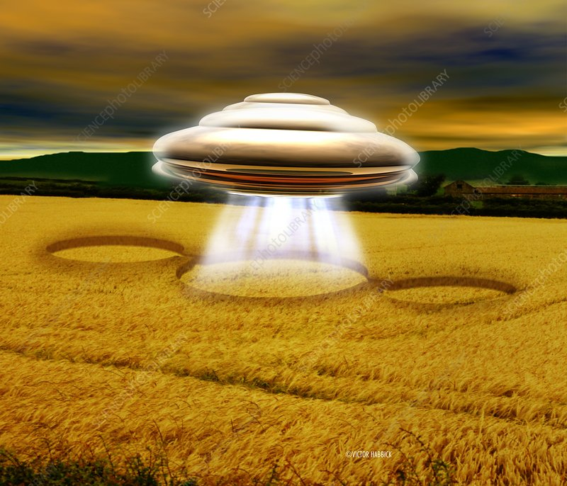 Victor habbick visions science photo library caption ufo making crop