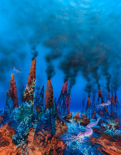 Alien hydrothermal vents