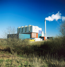 Refuse power plant