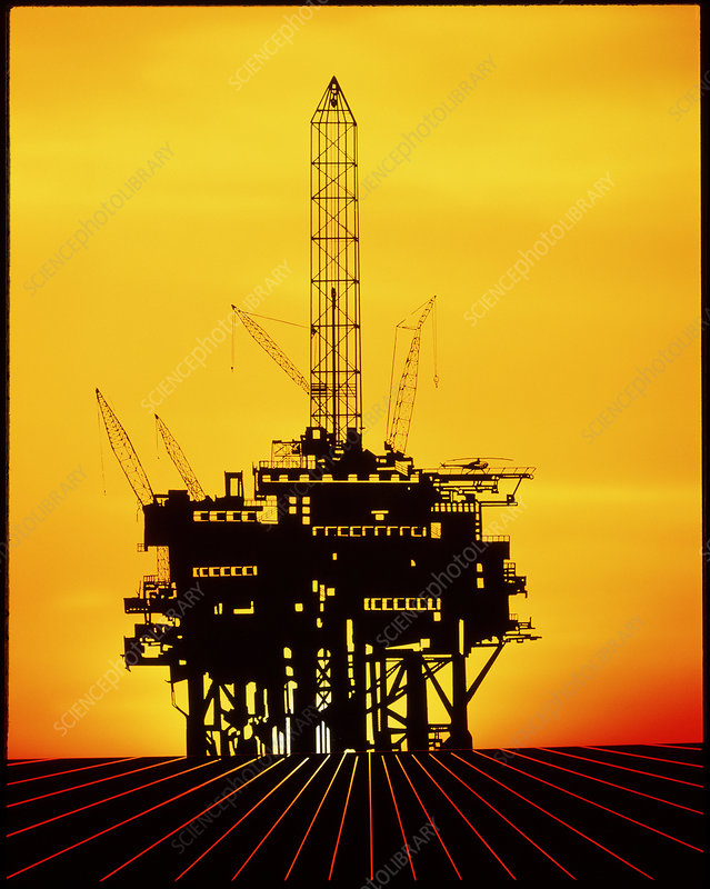 Oil exploration platform