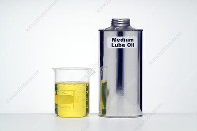 Medium lubricating oil