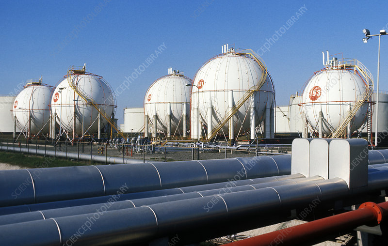 Pipes and storage tanks