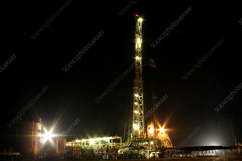 Iro-A oil platform, Ecuadorian Amazon