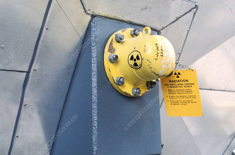 Radioactive level gauge