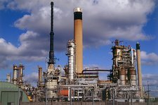 Coryton oil refinery, Essex, UK