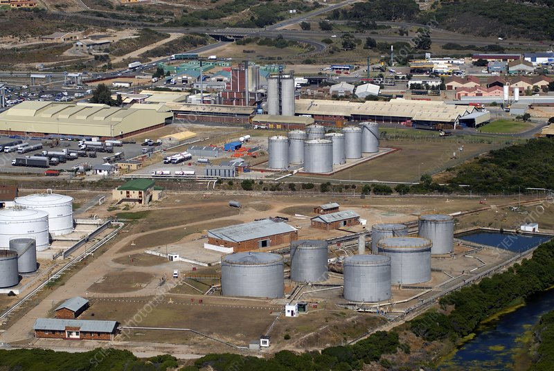 Mossel Bay oil refinery, South Africa