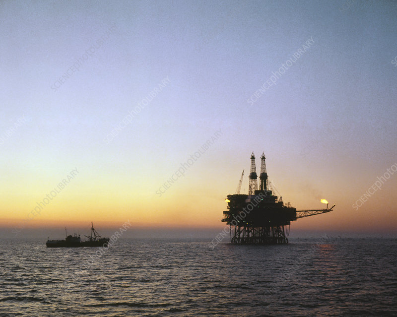 Claymore-A, fixed oil production platform