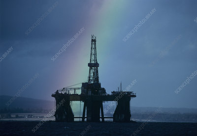 North Sea oil industry