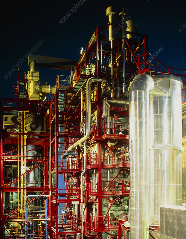 External view of a gasification plant in Italy