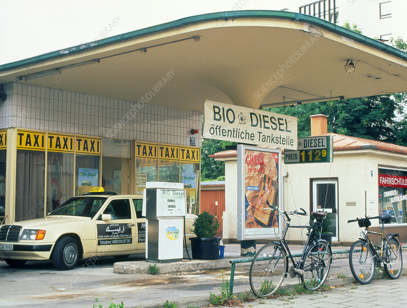 Biodiesel filling station in Germany