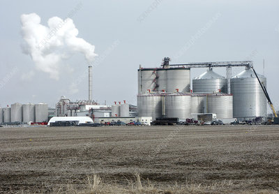 Ethanol biofuel factory usa stock image t122 0077 for Industrial motors burlington iowa