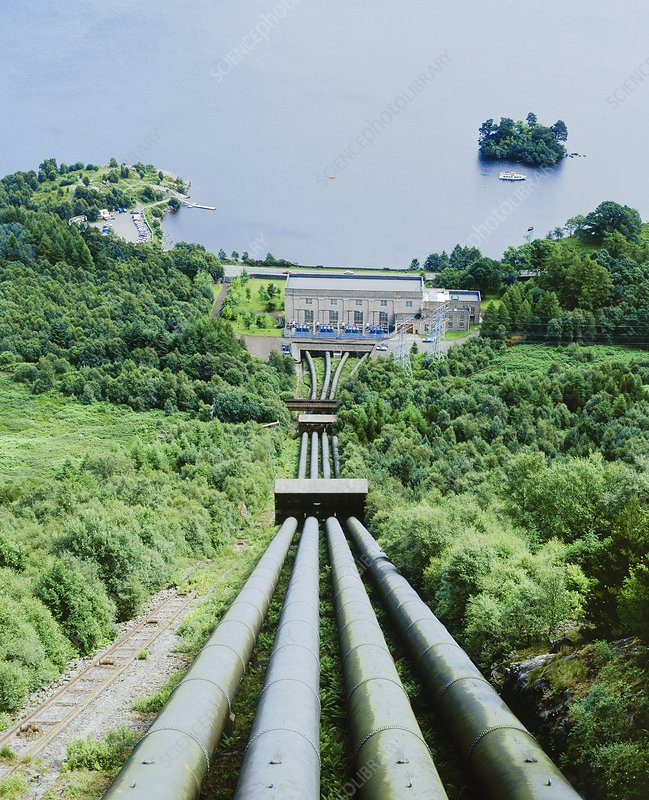 Sloy hydroelectric power station, Scotland