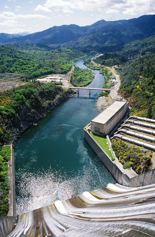 Shasta Dam, California, USA