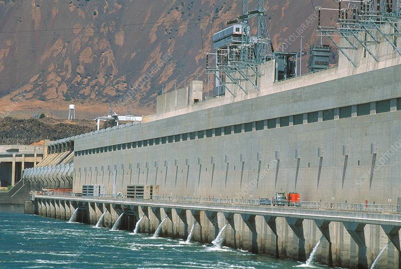 John Day Dam on the Columbia River