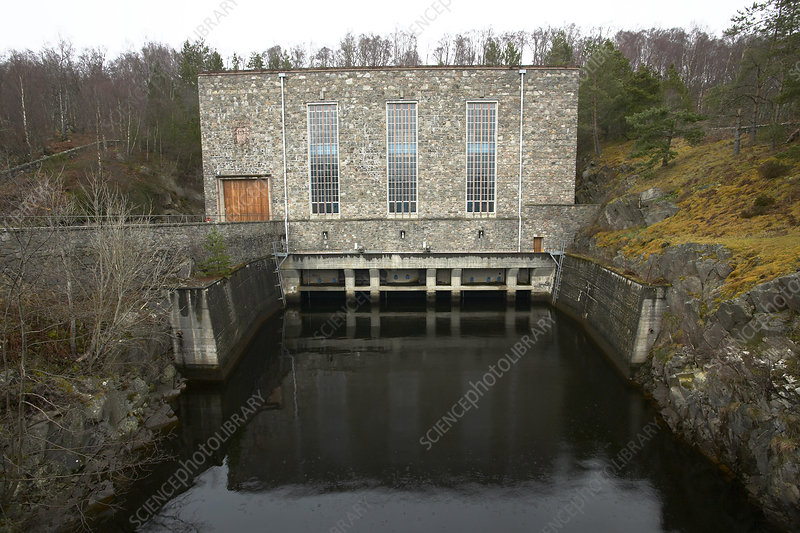 Hydroelectric power station, Scotland