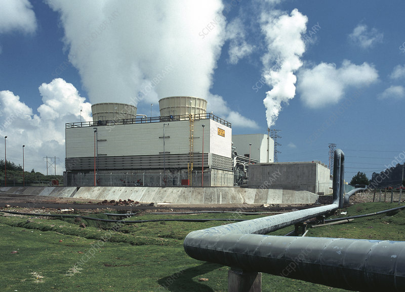 Geothermal Power Plant in Mexico