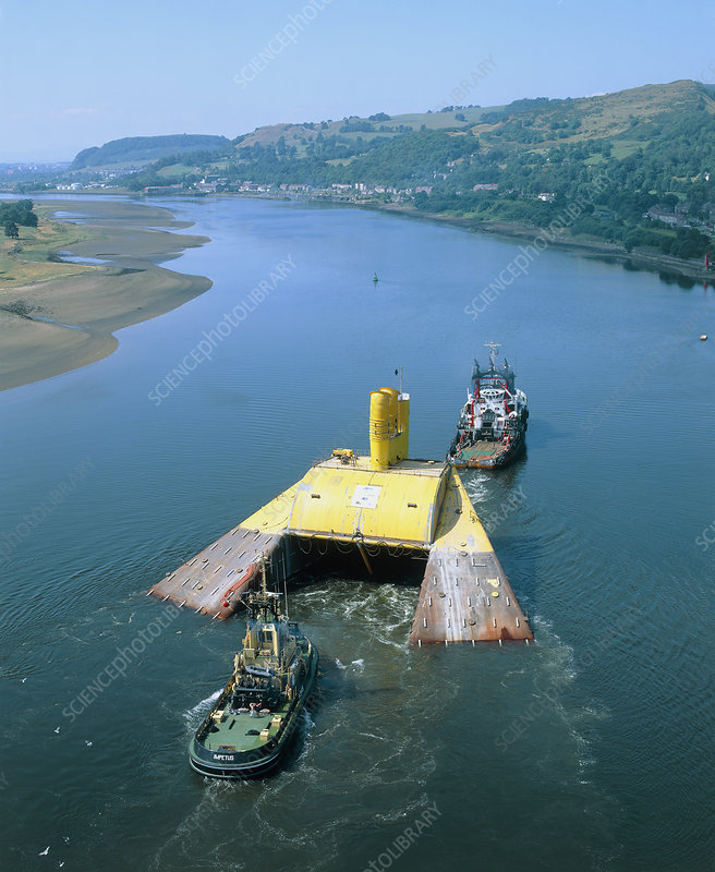 Osprey 1, commercial sea-based wave energy machine