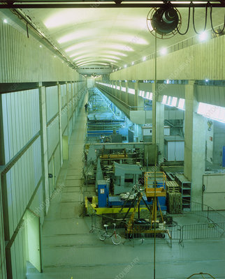 Turbine hall at a tidal power station