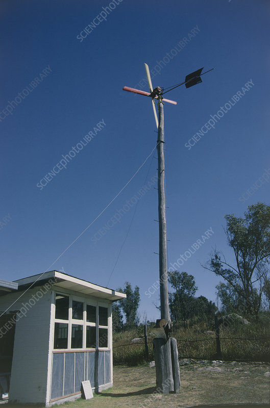 Home-built wind generator