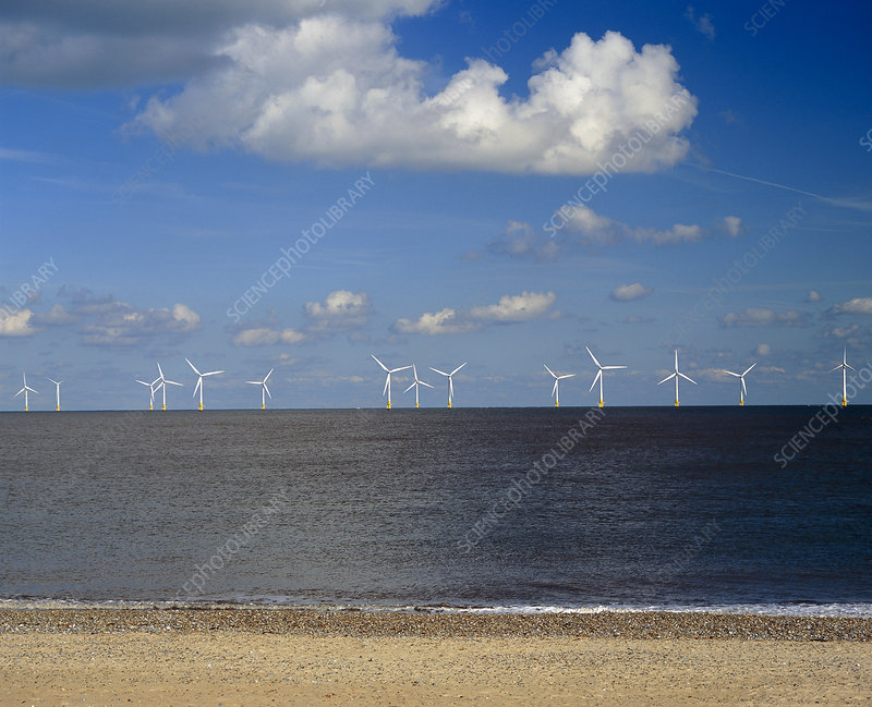 Scroby Sands offshore wind farm, UK