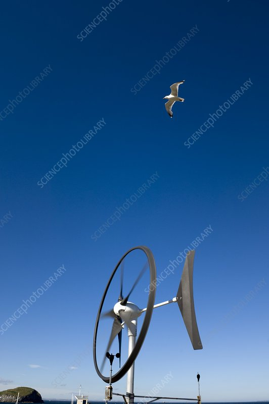 Rooftop wind energy system