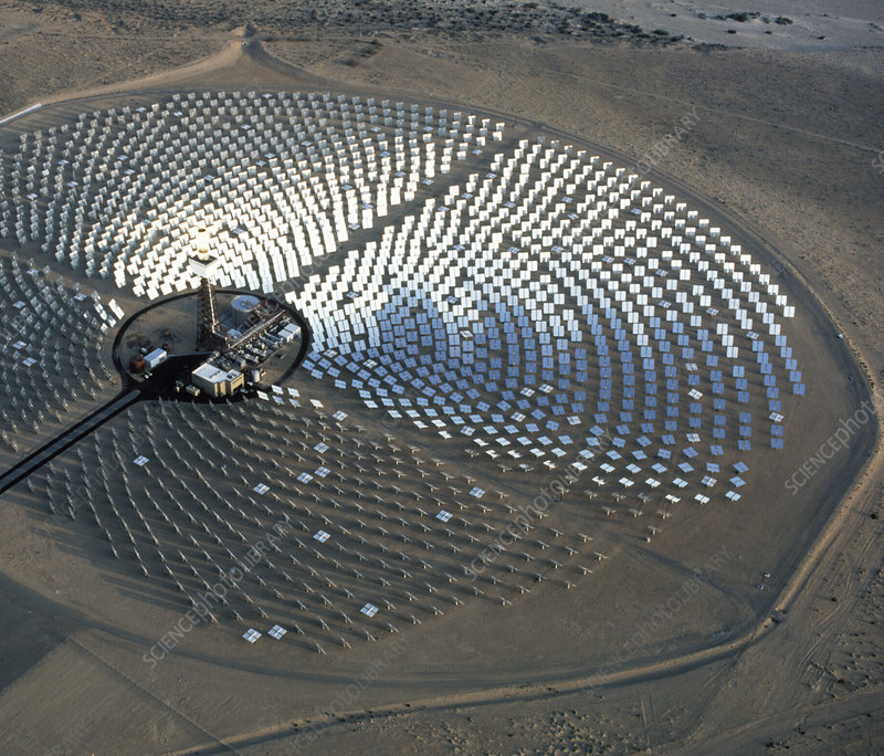 Solar one, Barstow, California