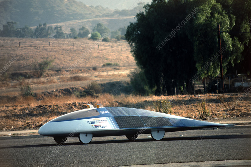 Sunraycer, solar car race entrant, Australia '87
