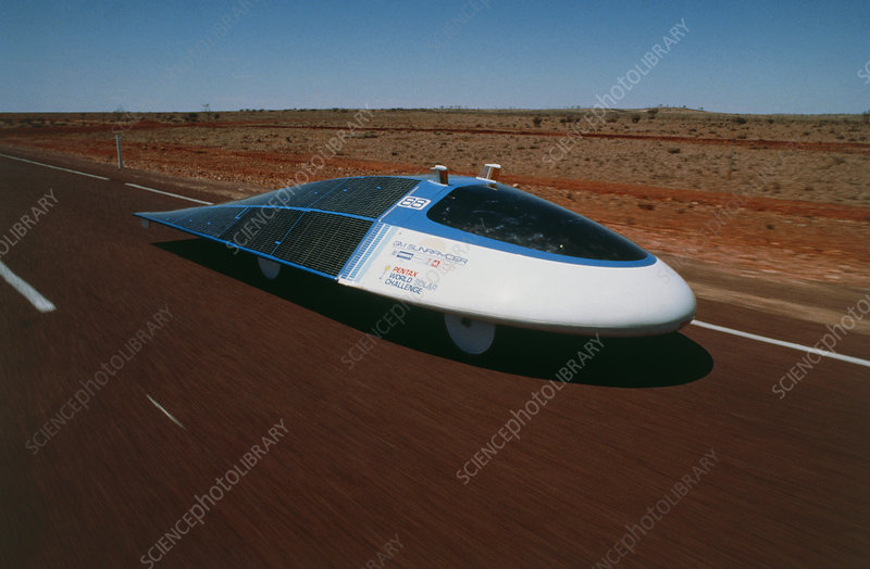 Sunraycer solar powered car