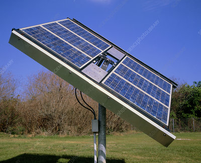 Photovoltaic cells in a solar collector panel