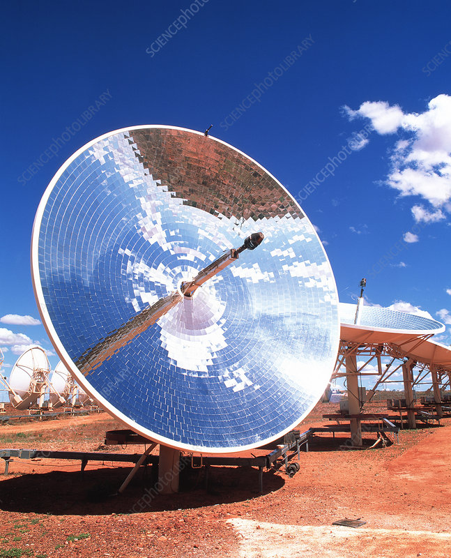 Solar power station, Australia
