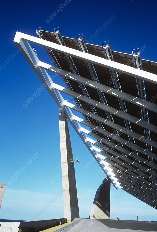 solar power plant spain. Solar power station