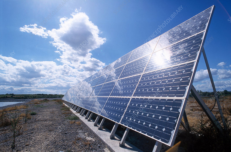 Solar panels for water purification