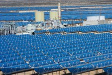 Solar power plant, California, USA