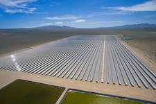 Solar power plant, Nevada, USA