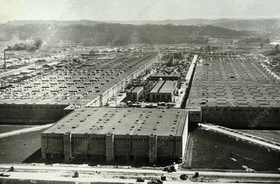Oak Ridge, production site of the atomic bomb