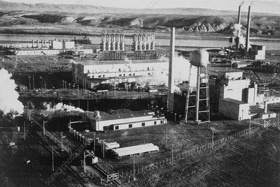 Hanford Works, production site of the atomic bomb