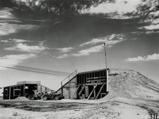 Main control bunker for the Trinity Test