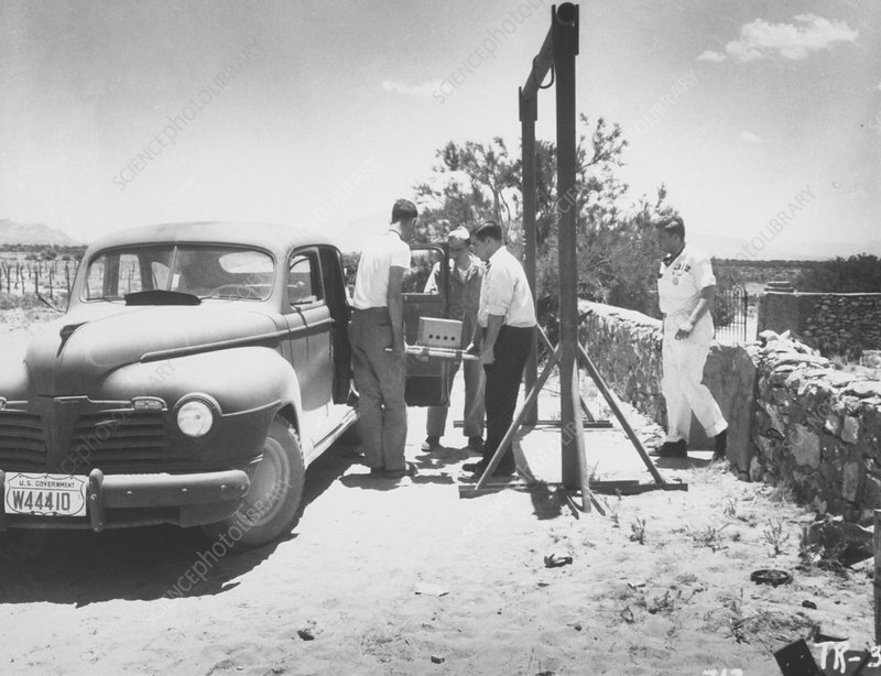 alamogordo atomic bomb. on the Alamogordo bombing