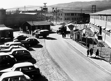 Los Alamos laboratoray buildings in World War 2