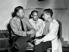 Manhattan project scientists at Los Alamos
