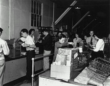 Commissary at Los Alamos during Manhattan Project