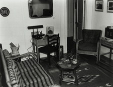 Interior of typical house, Los Alamos 1943-45