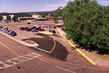 Junction of 20th and Trinity, Los Alamos, 1995