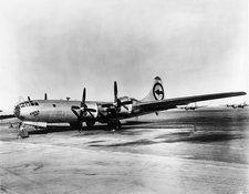 B-29 Enola Gay, dropped nuclear bomb on Hiroshima