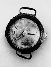Hiroshima clock stopped at moment atom bomb struck