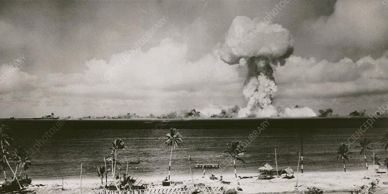 at Bikini Atoll, 1946